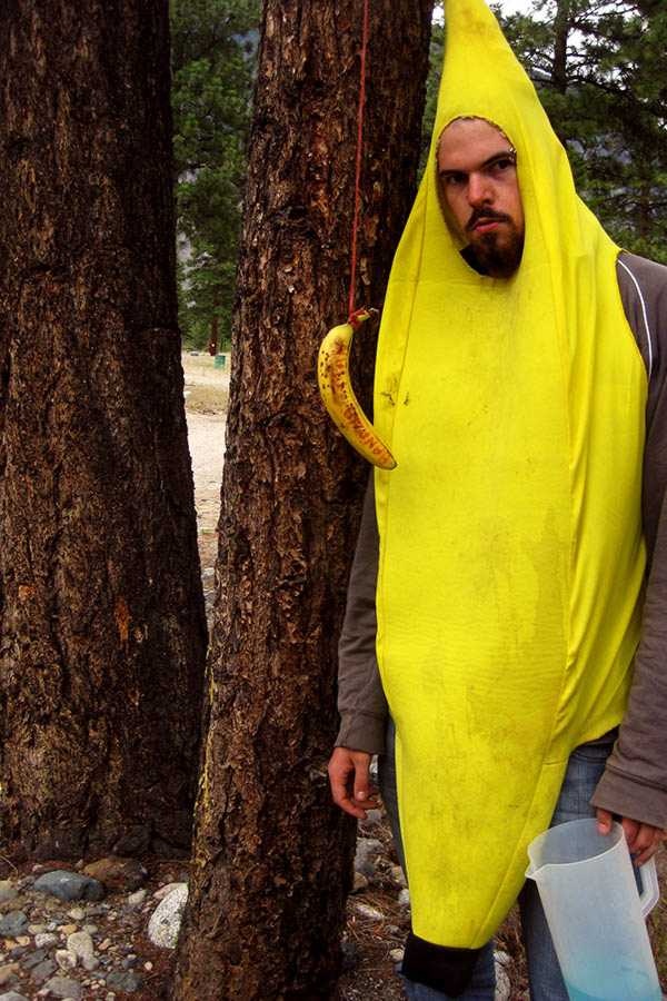 The Banana Man at the 4th Legendary Annual Summer Camping Trip