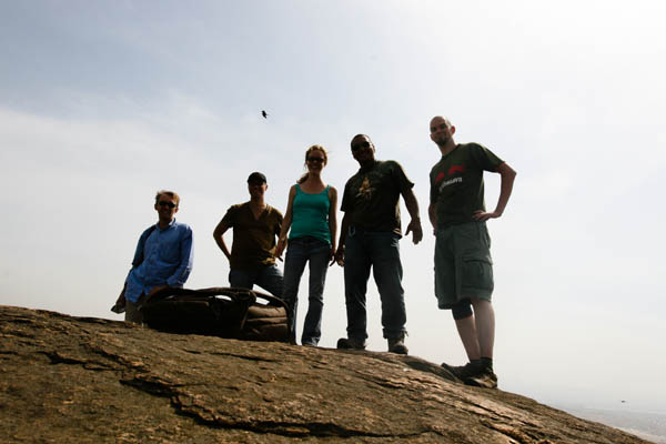 Timer group portrait atop Jebel Kujur