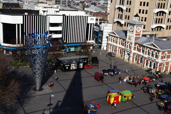 Cathedral Square, Christchurch, New Zealand