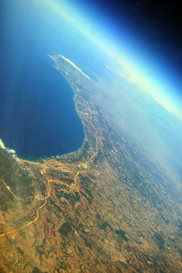 The northern coast of Africa