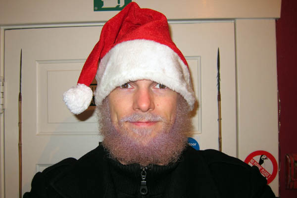 End result: Santa Chris