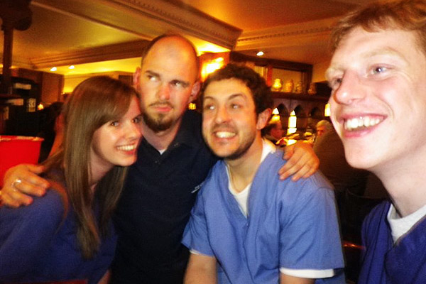 Circle Line Pub Crawl with Imperial College medical students