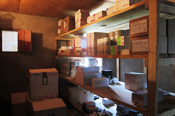 First medical storeroom in Daloa