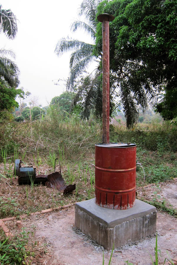 New drum burner installed at Namboli health centre