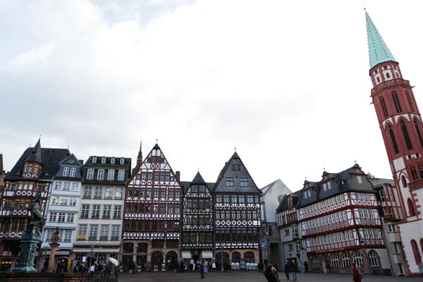 Frankfurt old town centre