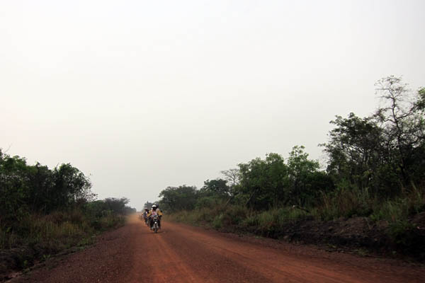 The road from Dungu to Duru, DR Congo