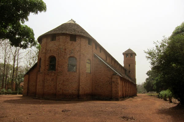 Catholic church, Duru, DR Congo