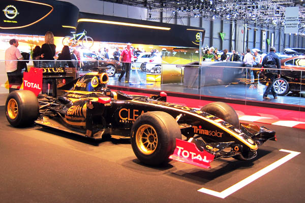 Lotus F1 race car