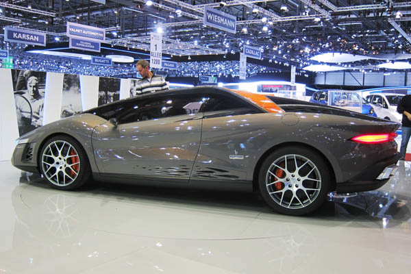 Bertone Nuccio Concept, side view