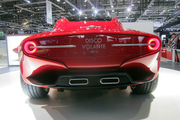 Alfa Romeo Disco Volante, rear view