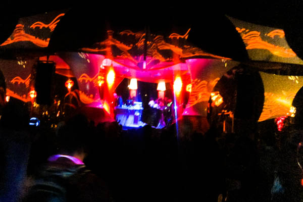 Living Room stage at Shambhala 2012
