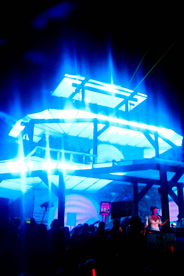 Pagoda stage at Shambhala 2012