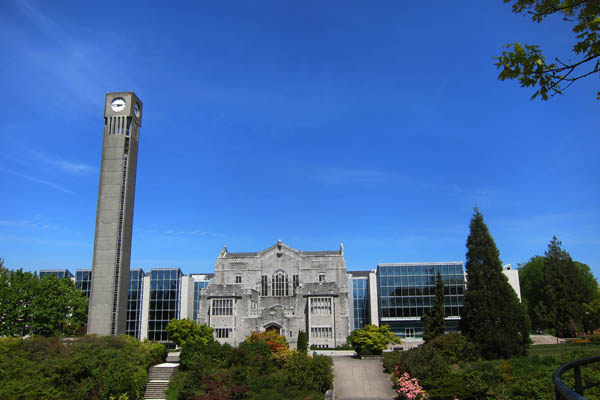 Irving K Barber (Main) library at UBC