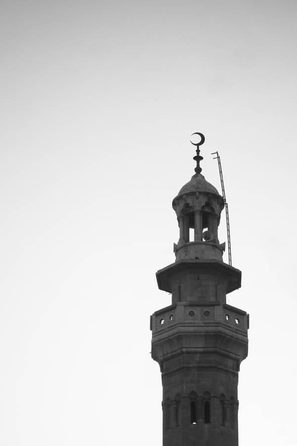 Mosque minaret in Amman, Jordan