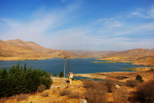 Duhok Reservoir, Iraq