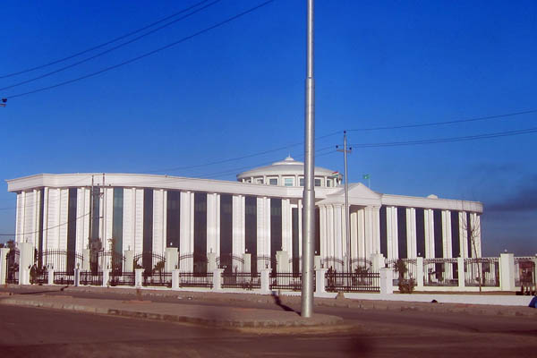PUK headquarters outside Erbil, Iraq