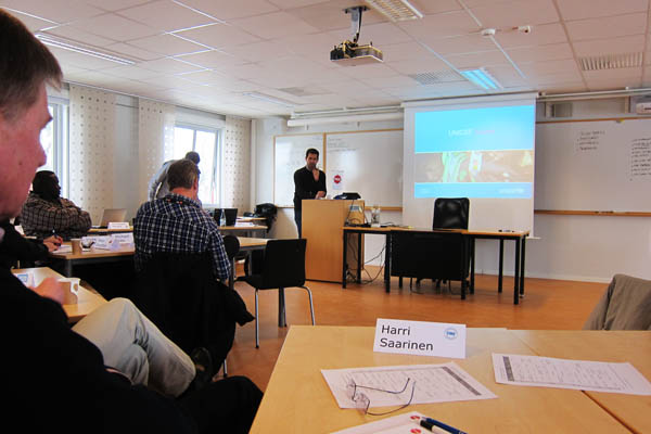 UN Logistics Induction Training at MSB Revinge, Sweden