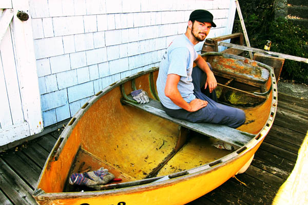 Restoring a fifty-year-old rowboat