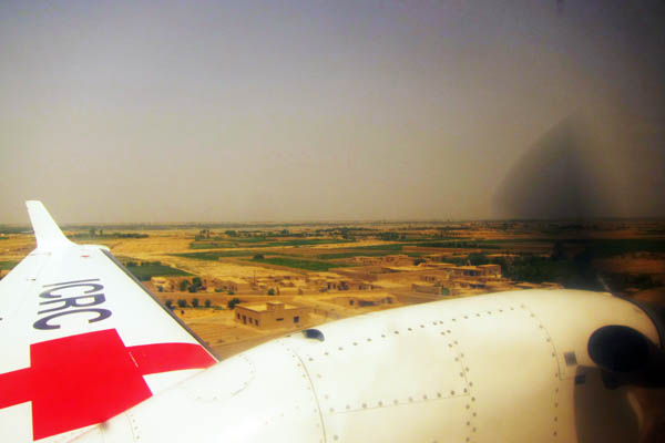 Flying with ICRC in Afghanistan