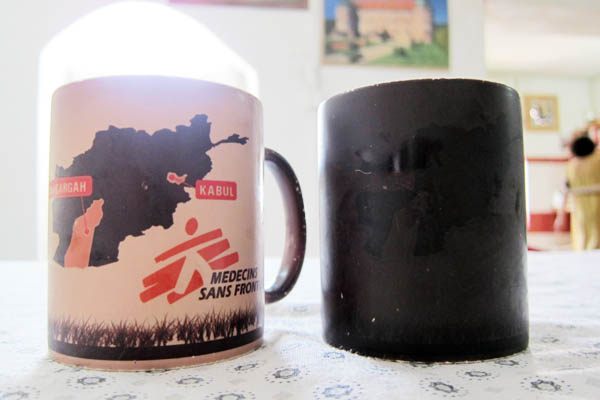 Neat heat-activated mugs