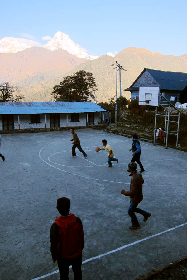 Basketball in the Himalayas