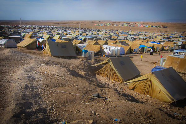 Domiz Refugee Camp, Duhok, Iraq