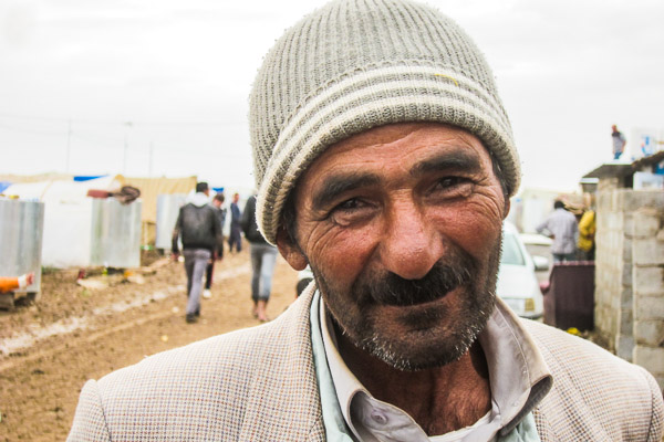 A friendly face in Domiz Refugee Camp, Duhok, Iraq