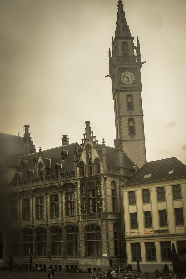 Ghent city centre, Belgium