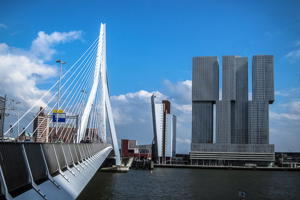 Rotterdam riverscape, Netherlands