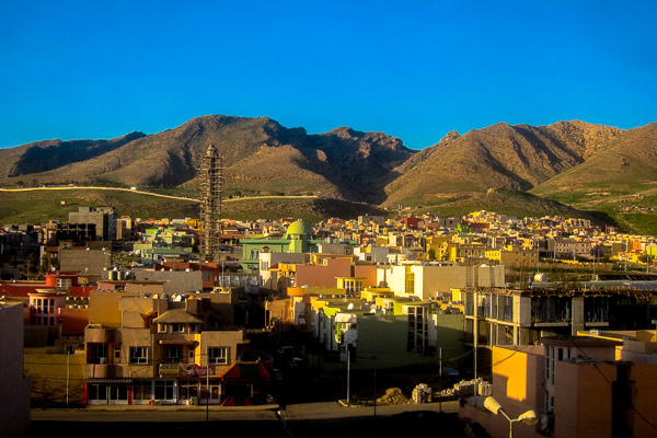 A view of the city of Duhok, Duhok Governorate, Kurdistan Autonomous Region, Iraq