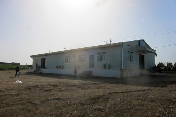 March 2013: the new primary health centre is up and running in Domiz Refugee Camp