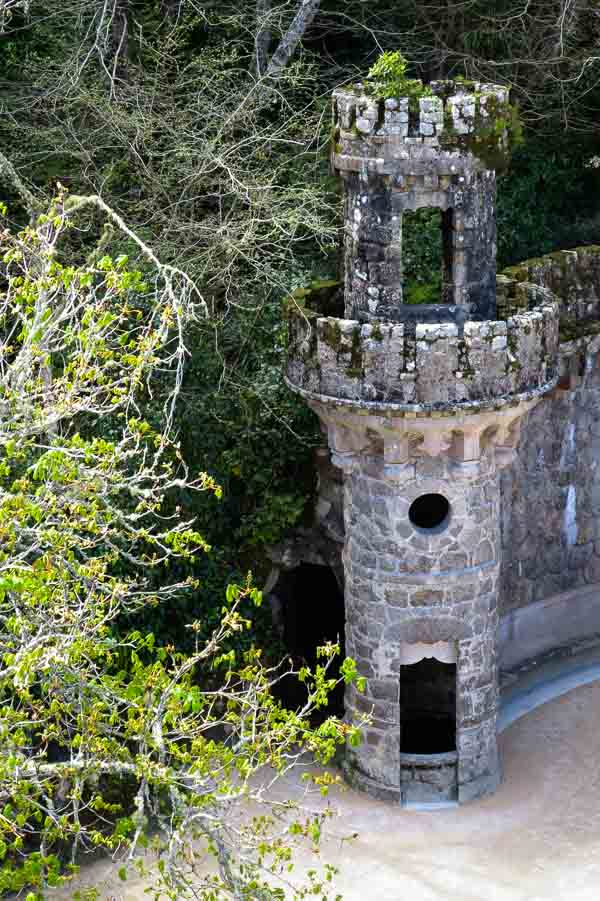 Tower at Quinta da Regaleira, Sintra