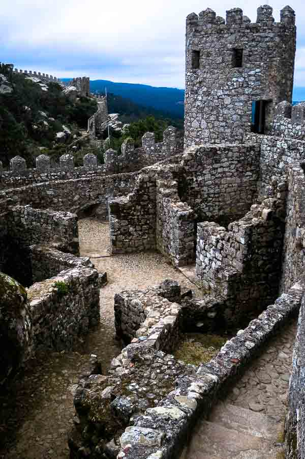 The Castle of the Moors (Castelo dos Mouros), Sintra