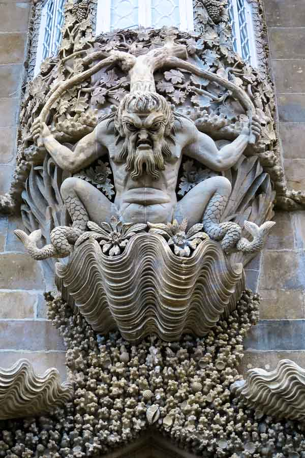 Poseidon at Pena Palace