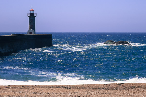 Felgueiras Lighthouse at Foz do Douro, Porto
