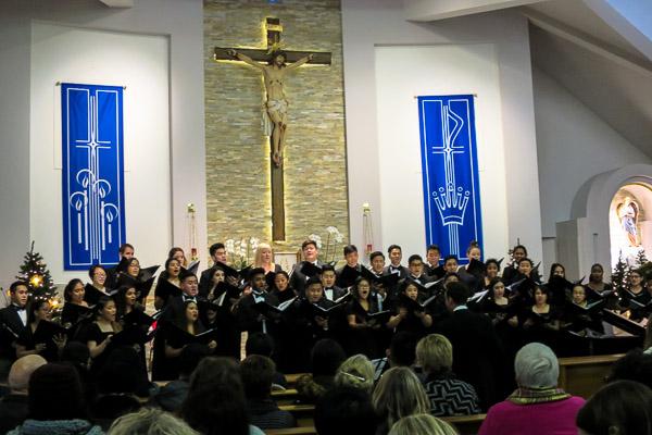 Corpus Christi College Chamber Choir Christmas Concert