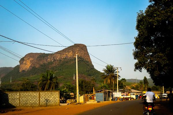 Massif in Dubréka, Guinea