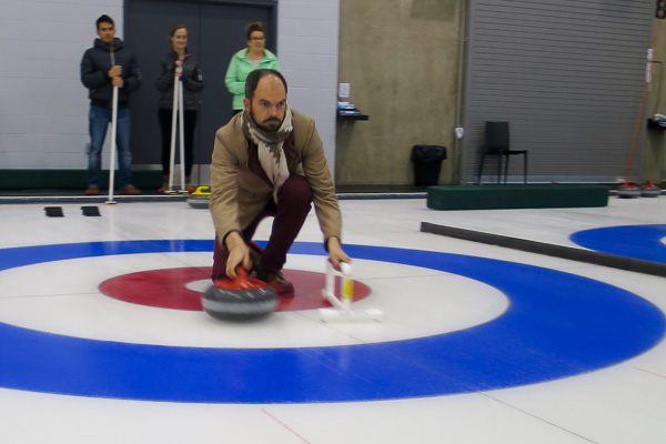 First time curling in Vancouver