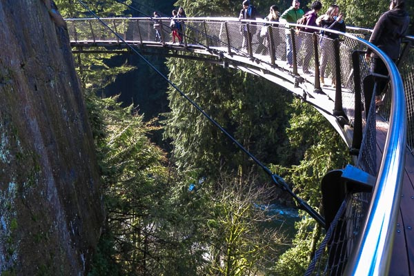 Capilano Cliffwalk, North Vancouver