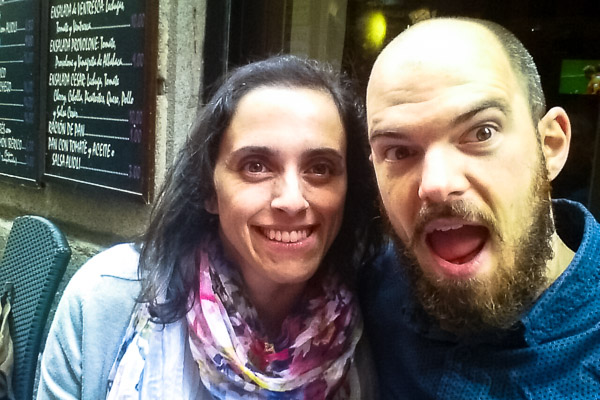 Hanging out with Ángela in Madrid, Spain
