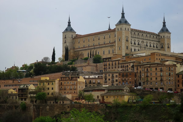 El Alcázar de Toledo, Spain