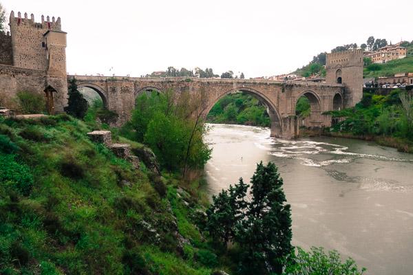 El Puente de San Martín, Toledo, Spain