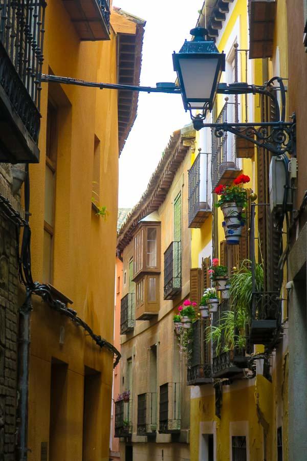 Streets of Toledo, Spain