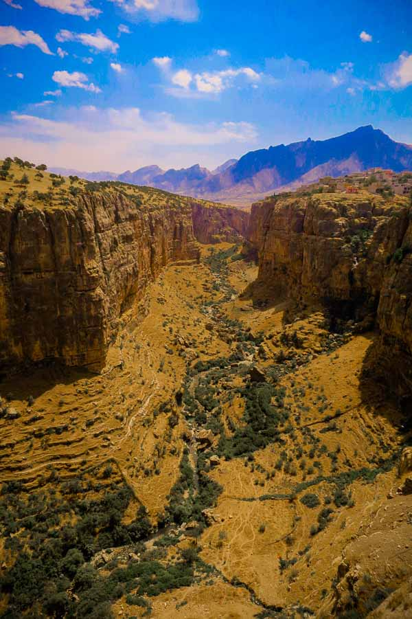 Canyon in Kurdistan, Iraq