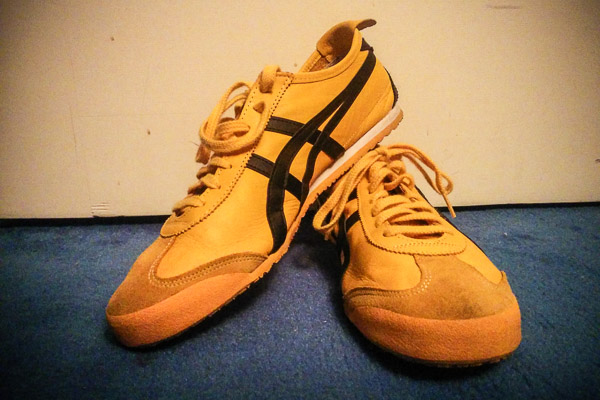 Onitsuka Tiger yellow Mexico 66 shoes